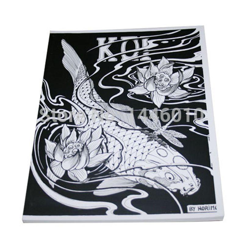 2016 fashion design tattoo book 50 japanese koi tattoo designs by horimouja outline stencil. Black Bedroom Furniture Sets. Home Design Ideas