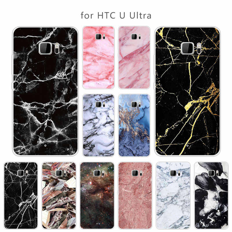 For HTC U Ultra Back Cover Slim For HTC U Ultra Ultra Clear Shells Soft Silicone for HTC Ocean Note Soft Transparent Phone Cases