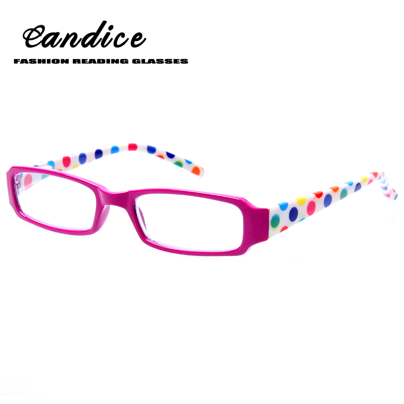 Fashion printed reading glasses for men and women spring hinge rectangular frames quality eyeglasses 0.5 1.75 2.0 2.5 to 6.0