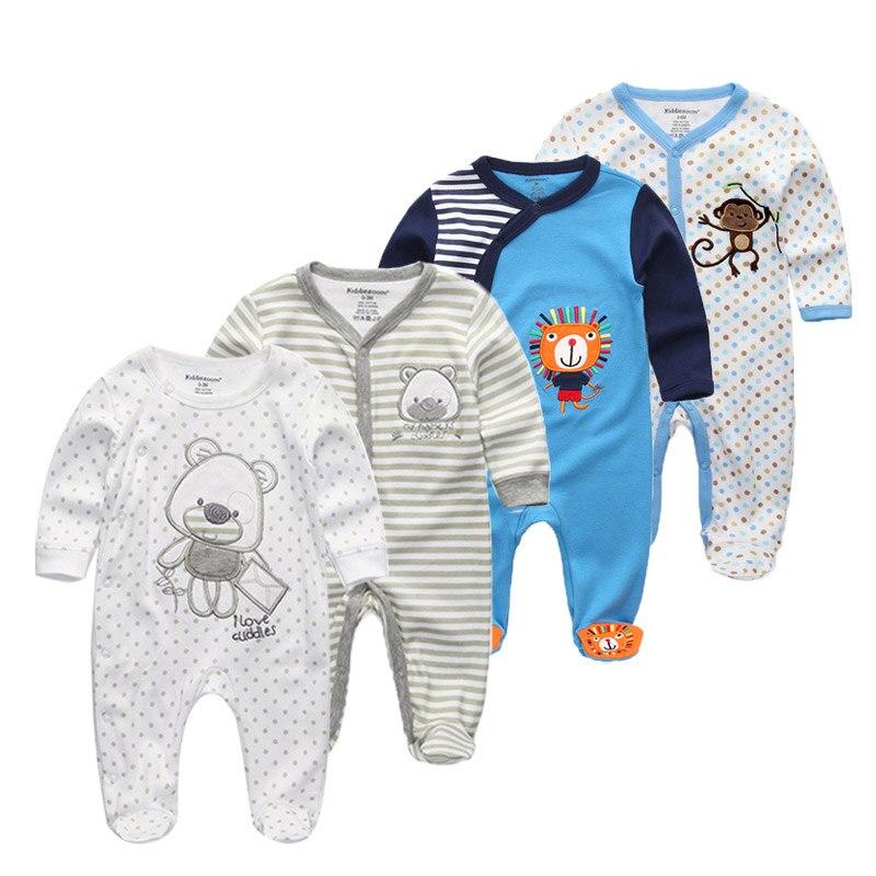 4 Stks/partij Zachte Flanellen Baby Nachtkleding Kawaii Kids Jongen Meisjes Pyjama Warm Jongens Meisjes Hooded Kinderen Kleding Catalogi Worden Op Verzoek Verzonden