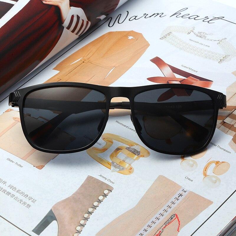 2018 Photochromic Polarized Sunglasses classic design Day Night Men's Sunglasses for Driving Fishing UV400 Sun Glasses for men 3