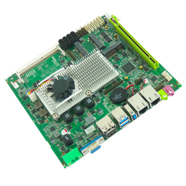 Hot Sale Intel industrial Motherboard Supports Intel Core I3/I5/I7 Processor onboard 2xLAN mini itx motherboard