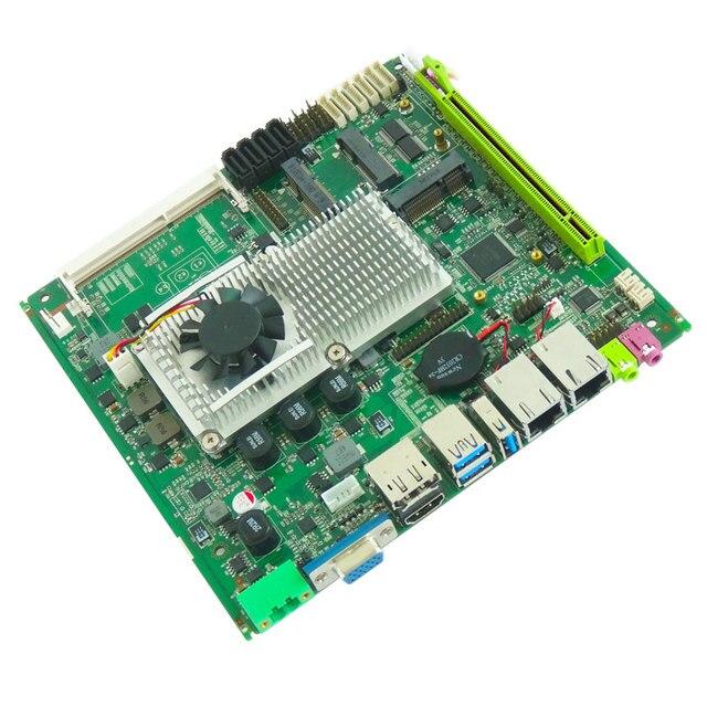 La scheda madre industriale Intel di vendita calda supporta il processore Intel Core I3/I5/I7 integrato 2 * scheda madre mini itx LAN