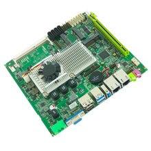 Sıcak satış Intel endüstriyel anakart desteği Intel çekirdek I3/I5/I7 işlemci 2 * LAN mini itx anakart