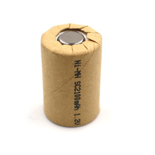 C amp P Ni-Mh 4 5SC2100mAh 4 stücke NIMH 4 5SC 2 1 Ah Power Cell akku zellen entladung rate 10C 20A power tool batterien cheap 23*23*34 1 2V 38 4g