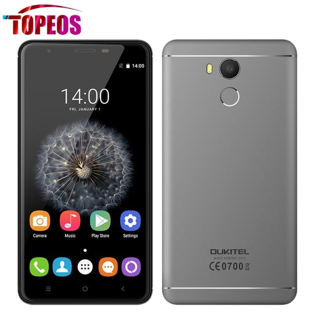 Oukitel U15 Pro 4 Г MT6753 MT6753 Octa Ядро Смартфон Окта Ядро 1.3 ГГц 3 ГБ RAM 32 ГБ ROM 5.5 дюймов 16MP Отпечатков Пальцев ID OTG HD