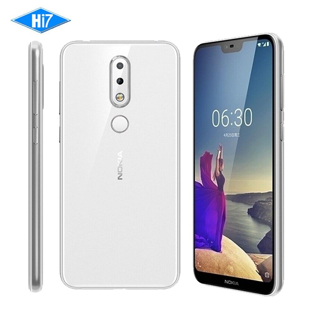 D'origine Nokia X6 2018 4g RAM 64g ROM 3 Caméra Double Sim Android LTE D'empreintes Digitales Octa Core 3060 mah 16.0MP 5.8 pouce LTE Téléphone portable