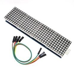 Модуль точечной матрицы MAX7219 для микроконтроллера Arduino 4 в одном дисплее с линией 5P