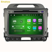 2GB RAM Android 7.1 Fit for Kia Sportage 2010 2011 2012 Car DVD Radio Player Multimedia Navigation Head Device Video