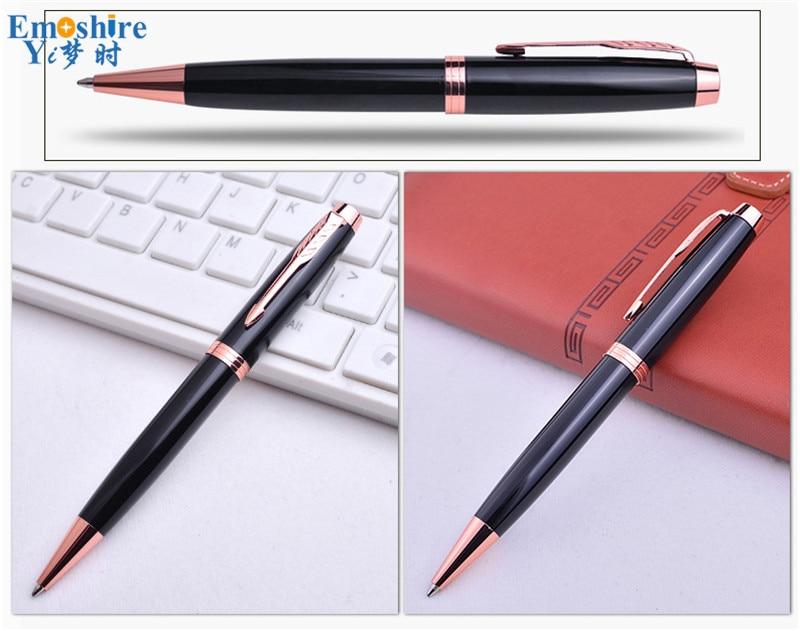 Emoshire Signature pen advertising gift wholesale Office stationery advertising pen custom pen Gift pen metal ballpoint pen (13)