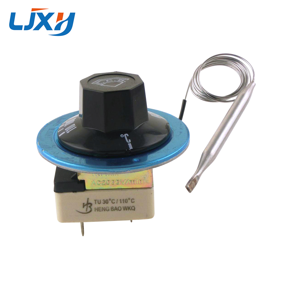 LJXH Ceramic Base Water Heater Parts Temperature Controller 30-110/50-300/60-200 Centigrade Rotary Knob Temperature Control