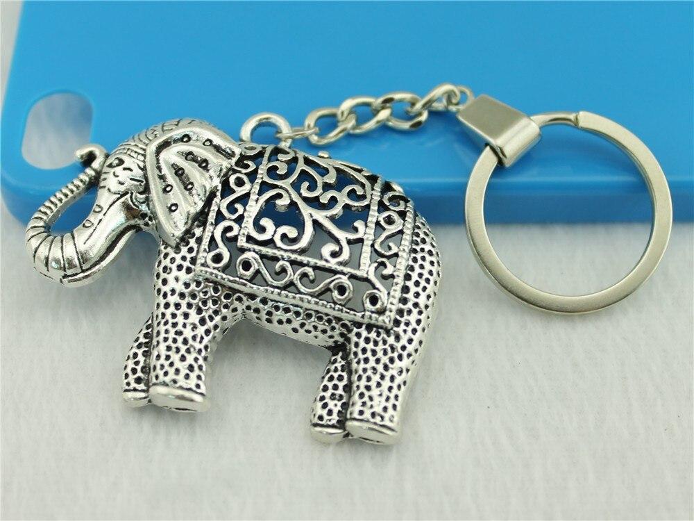Vintage Elefanten Charme Schlüssel Ringe Dropship Lieferanten Zahlreich In Vielfalt Neue Mode Metall Schlüssel Ketten Zubehör Wysiwyg Männer Schmuck Schlüssel Kette