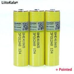 Liitokala Original HE4 2500mAh Li-lon Battery 18650 3.7V Power Rechargeable batteries Max 20A discharge +Pointed