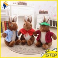 Free Shipping Multisize Super Cute Peter Rabbit Plush Toy Soft Bunny Doll Baby Toys Lovely Gifts for Children ST384