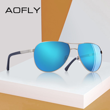 AOFLY BRAND DESIGN Polarized Pilot Sunglasses Male Driving M