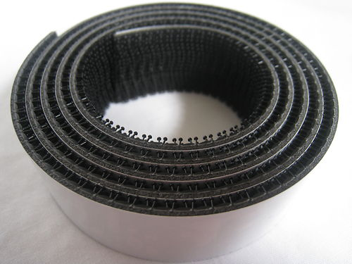 Бесплатная доставка, 3 комплекта/партия м SJ3540 1 дюймовыечистые этикетки пробки x50yards reclosabal Dual Lock лента с черным (вспененная) для использования... - 3