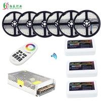 40M RGBW LED Strip 20M 10M Waterproof RGBWW Diode Tape Mi Light RGBW Controller RF 4