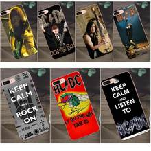 Acdc Hard Rock Band For Huawei G8 Honor 5C 5X 6 6X 7 8 9 Y5II Mate 9 P7 P8 P9 P10 P20 Lite Plus 2017 Soft Case Coque Cover(China)