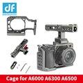 DIGITALFOTO WARAXE A6 комплект камера клетка для Sony A6000 A6300 A6500 ILCE-6000/ILCE-6300/ILCE-A6500 с ручкой рельса
