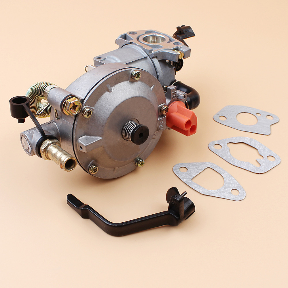Tools : Carburetor Dual Fuel Conversion Kit For HONDA GX160 GX200 168F 170F 2KW 3KW GENERATOR LPG CNG GASOLINE Dual Fuel Carburetor Carb