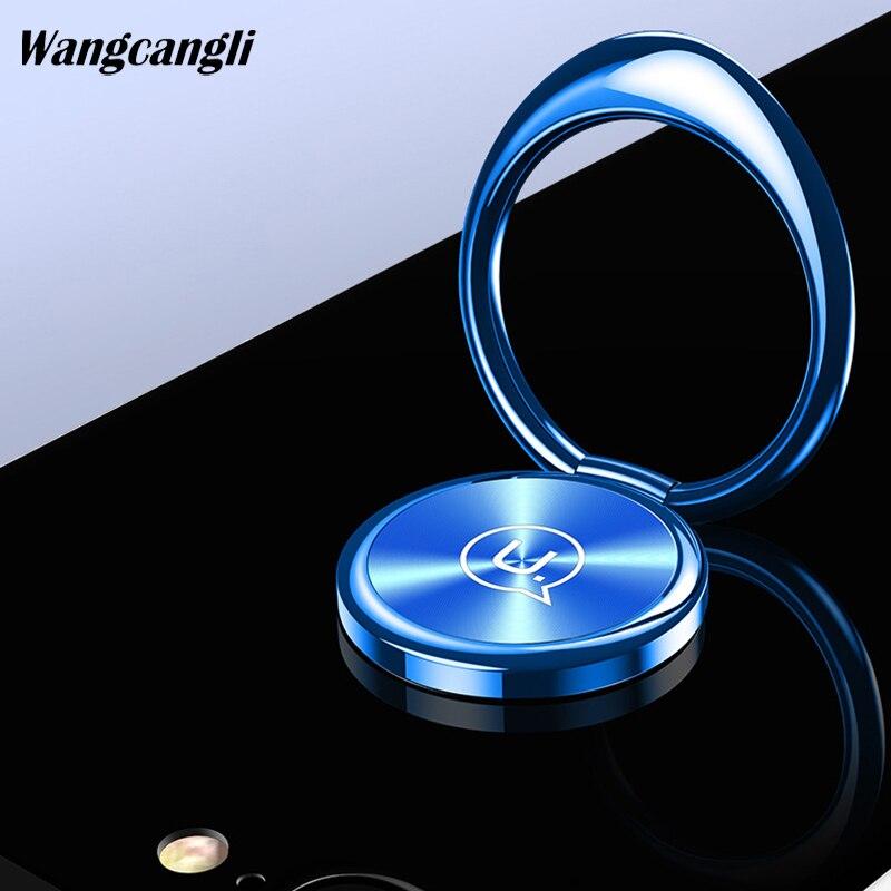 Wangcangli finger ring holder for OPPO universal mobile phone ring magnetic adsorption mobile phone holder for iPhone 8