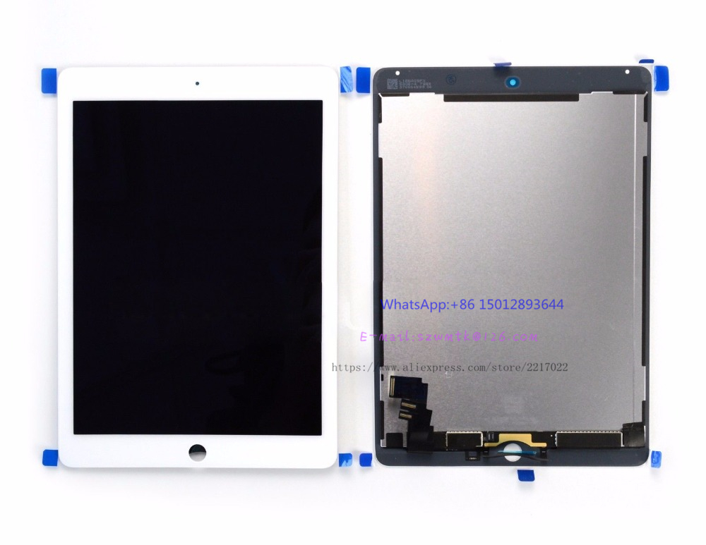 Top Quality LCD Display Screen & Digitizer Full Assembly with Touch Screen For ipad air 2 lcd ipad 6 A1567 A1566