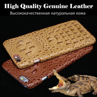 New Brand For ZTE Nubia Z11 Phone Case Cover Luxury 3D Crocodile Back Lines Genuine Leather