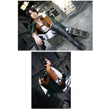 Attack on Titan Womens Coat Cosplay Costume