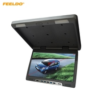 FEELDO 20.1 Roof Mounted LCD Bus Monitor Car Bus Flip Down TFT LCD Monitor with IR Transmitter 3 Colors #AM1298