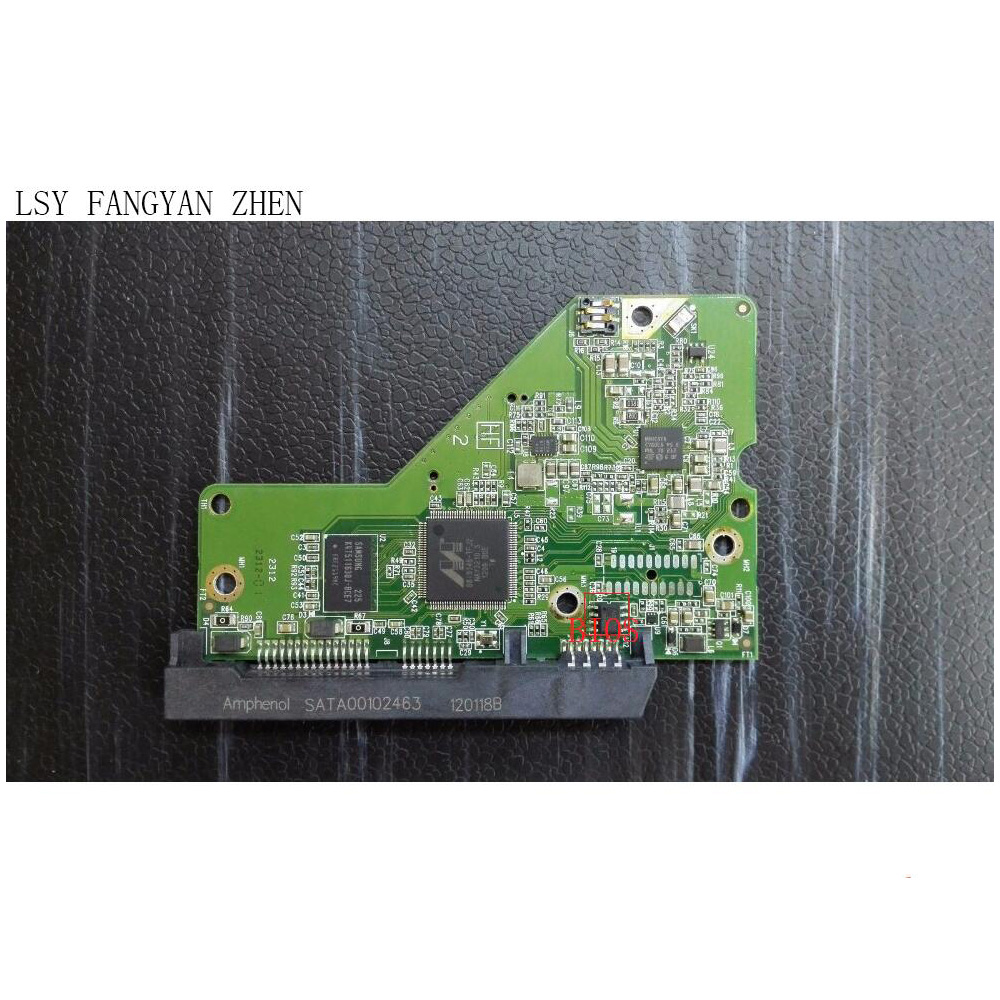 PCB 2060-771824-006 REV-A/P1 for Hard Drive WD7500AZEX WD10EZEX WD5003AZEX HDD Logic Board 46 wvga logic dif component pcb v02 4359301402 a used disassemble