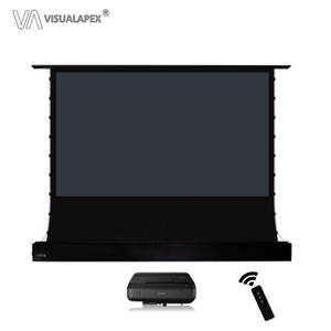 Projection-Screen Electric-Alr Motorized UST Format Floor Ultra Short Throw Anti-Light