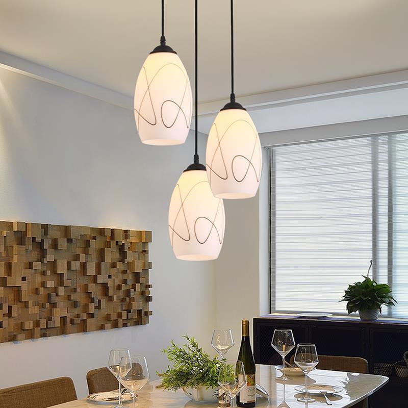 Techo Moderna Lampadari Moderni lustre déco Cuisine Lampara Colgante Suspension Luminaire Luminaria Suspension lampe pendante