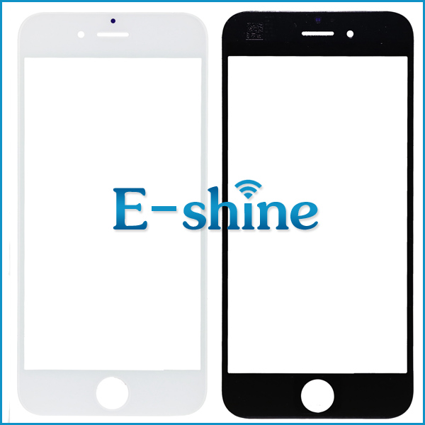 Touch Screen Out Front Glass Lens Cover For iPhone 6 6S Black and White Glass Lens Digitizer Replacement for iPhone6 6S