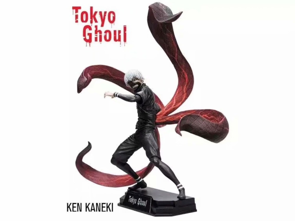 Hot Sale <font><b>Ken</b></font> <font><b>Kaneki</b></font> Comic <font><b>Anime</b></font> <font><b>Tokyo</b></font> <font><b>Ghoul</b></font> 18cm Mcfarlane <font><b>Action</b></font> Figure Toys 2 Head