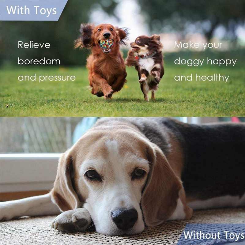 Juguete de cuerda para perro, juguetes masticables para cachorros Durable cachorro juguetes de dentición para limpieza de dientes lavable algodón nudo pelotas de cuerda juguetes mejor regalo Fo