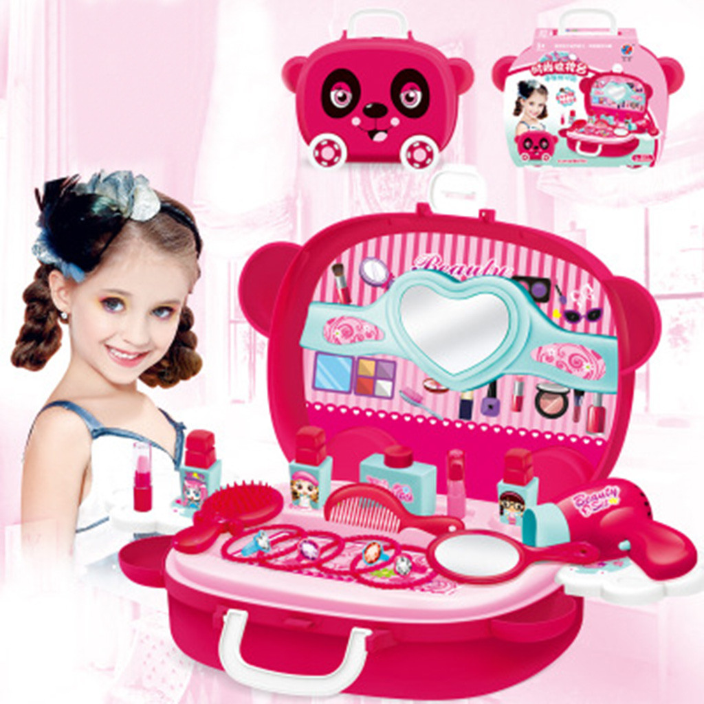 Children Pretend Role Play Cosmetic And Makeup Toy Set Kit