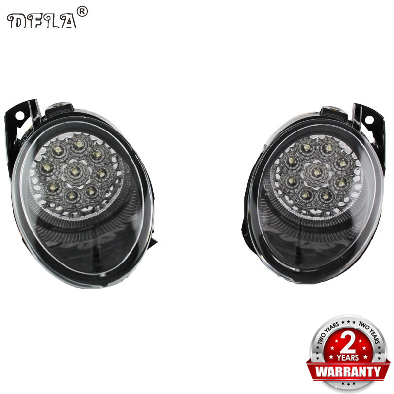 Car LED Light For VW Passat B6 2006 2007 2008 2009 2010 2011 Car-styling High Quality 9 LED Fog Lamp Fog Light все цены