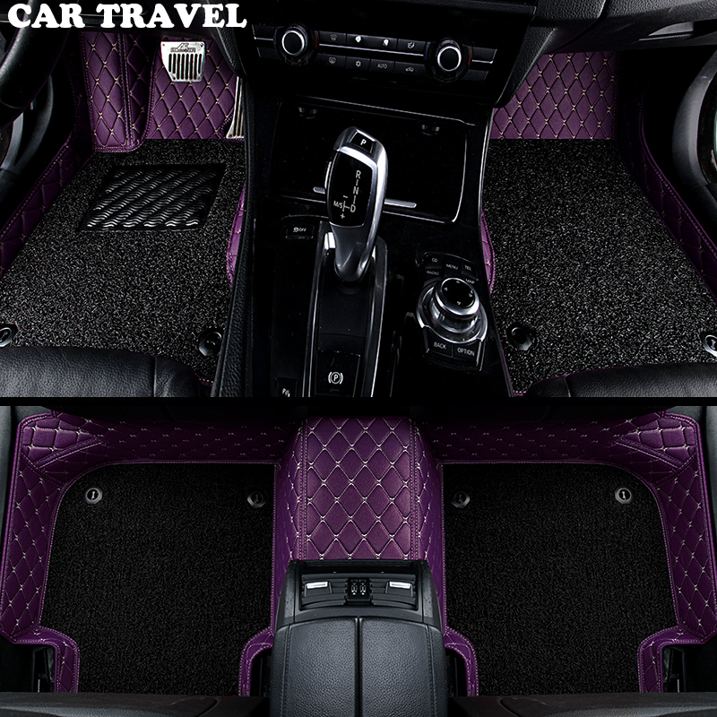 car floor mats for KIA K2/3/4/5/7 Borrego KX3 Cerato Sportage Optima Maxima carnival rio ceed carens Sorento Custom foot styling цена
