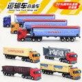 1:48 Американский детские машинки, имитационная модель сплава автомобиля, сплав перевозчик/грузовик, рождественские подарки для детей.
