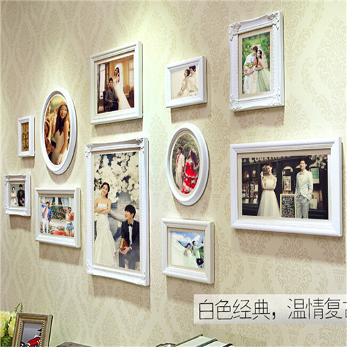 Photo Frame Wall 2017 New Design Removable Memories Home Decor Art Wooden