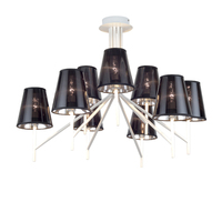 Led Luxury Lustre Modern Design Chandeliers 5W Chandelier on The Ceiling 110 220v Wrought Iron Classic Chandeliers