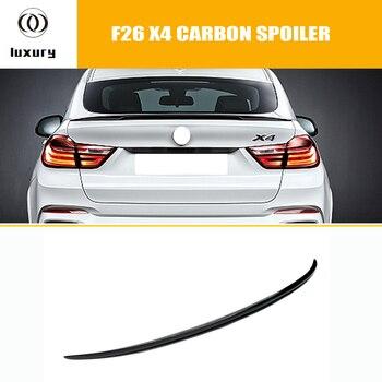 X4 F26 M styl z włókna węglowego tylny spojler do bmw X4 20i 28i 35i 20d 30d 35d 2014 2015 2016 samochodów stylizacji