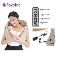 U Shape Car/Home Neck Massager Electrical Shiatsu Shoulder Back Body Massagers Infrared 3D Massagem Electric Cervical Massager