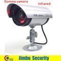 Alta qualidade Falso Manequim Câmera de Segurança CCTV bala forma usando nos LEVOU ao ar livre de visão noturna infravermelha usando bateria AAin noite