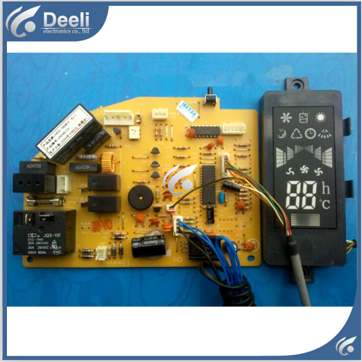 95% new good working for air conditioner board pc board ZKFR-36GW/E 43/1 T807F134DCP221-Z display board 2pcs/set 95% new good working for air conditioner motherboard pc board plate zkfr 72lw 17c1 on slae