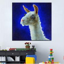 Large size Printing Oil Painting dolly llama Wall painting Wall Art Decoration Picture For Living Room painting No Frame