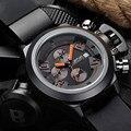 2016 JEDIR CHRONOGRAPH 24 Hours Function Men's Sport Watch Silicone Wrist Watch Army Military Watch MEGIR Montre Homme Relojes