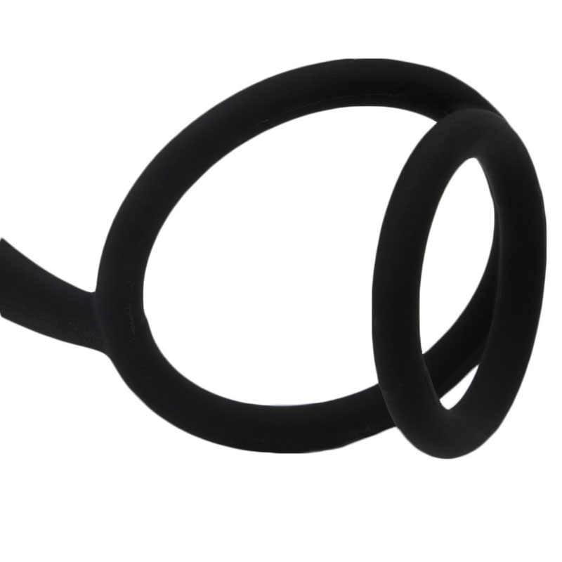 Mainan Seks untuk Pria Silikon Pantat Orgasme Pria Anal Butt Plug Pria Prostat Pijat Seks Dewasa # E015C #