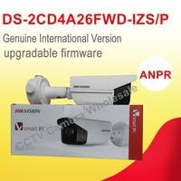 English Version DS 2CD4A26FWD IZS P 2MP Ultra Low Light Bullet Cctv IP Camera POE ANPR