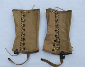 WWII WW2 US Army Canvas Leg Wrappings Leggings Gaiters Halloween Cosplay Movie leg wrappings Christmas Gift